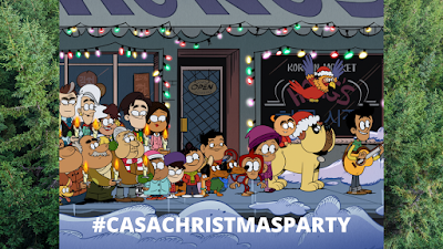 Twitter Party A Very Casagrandes Christmas