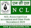 NCL Recruitment 2020 : Apply Online For 93 Accountant/Cost accountant and Other Posts