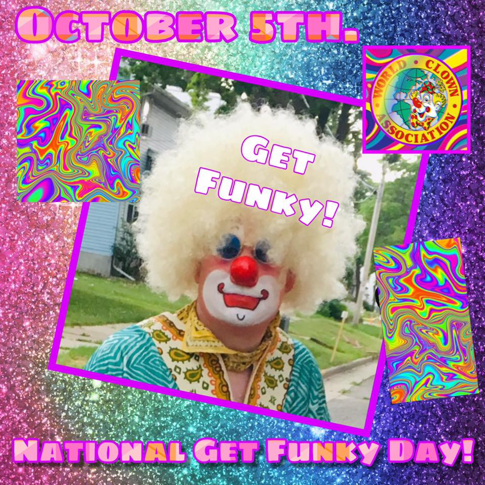 National Get Funky Day Wishes Images download