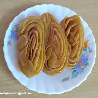 Sweet chirote-Diwali sweet-Khaja recipe