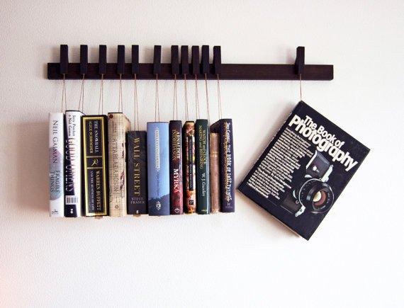 rak buku gantung terbaru