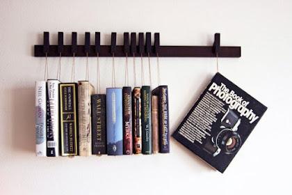 25 Model Rak Buku Gantung Minimalis Terbaik Yang Wajib Anda Miliki