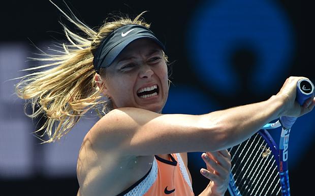 Maria Sharapova foi reprovada em teste de drogas