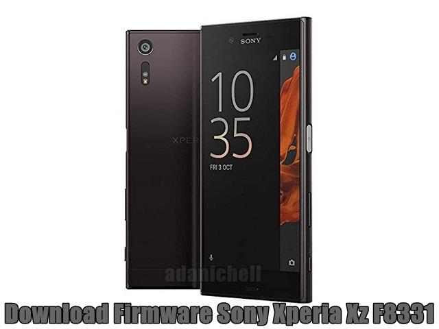 Download Firmware Sony Xperia Xz F8331