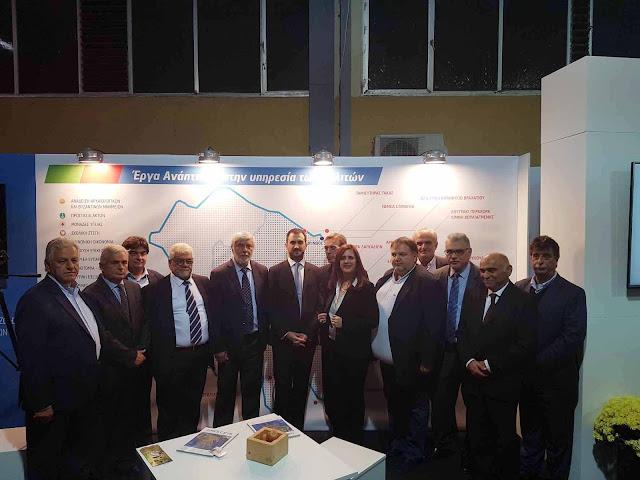 Εγκαινιάσθηκε η έκθεση «Πελοπόννησος Expo» από τον αν. Υπουργό Οικονομίας, Αλέξη Χαρίτση