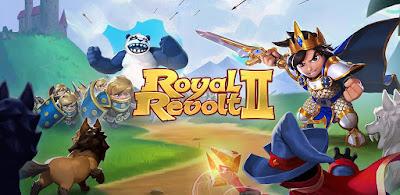 Royal Revolt 2 MOD (God Mode) APK For Android