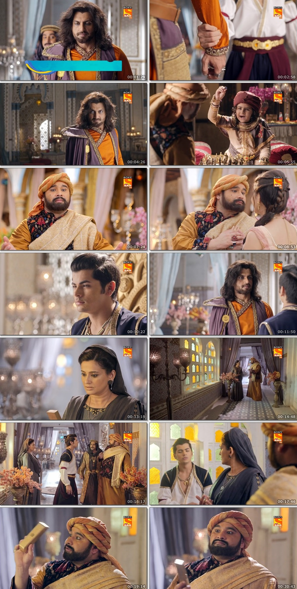 Screenshots Of Hindi Show Aladdin – Naam Toh Suna Hoga 2019 Episode 242 300MB 720P HD