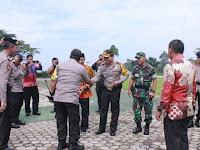 Kapolda Lampung Kunker di Polres Tanggamus