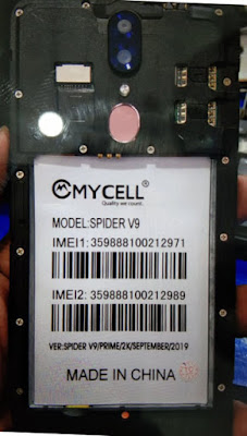 Mycell Spider V9 Flash File Hang Logo & Dead Recovery Stock Rom