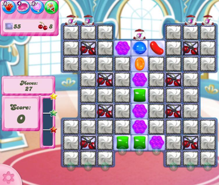 Candy Crush Saga level 2747