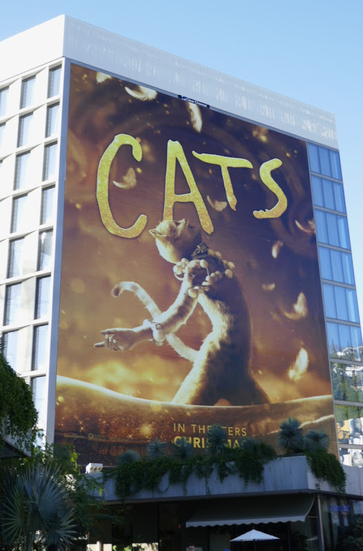 Giant Cats 2019 movie billboard
