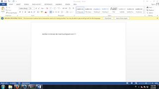 Cara Mudah Memberi Password di Microsoft Office Word 2013