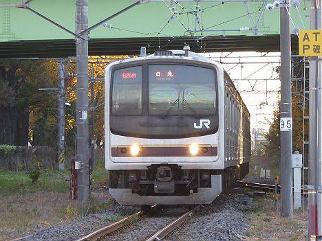 【E131系導入で消滅!】日光線 日光行き1 205系600番台日光色