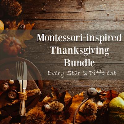 Montessori-inspired Thanksgiving Bundle