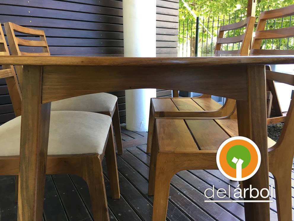 Del arbol f brica de muebles de madera mesa finland de for Arbol interior