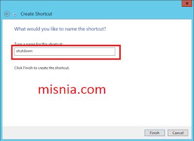 shutdown shortcut windows