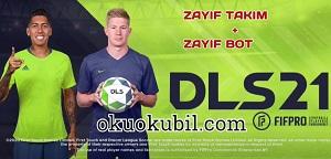 Dream League Soccer 2021v8.01 Zayıf Rakip + Zayıf Bot Hileli Apk İndir Kasım 2020