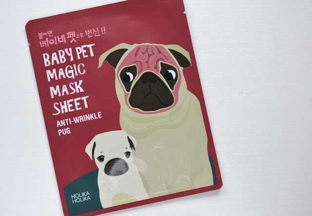 Holika Holika Baby Pet Magic Anti-Wrinkle Pug Mask Sheet