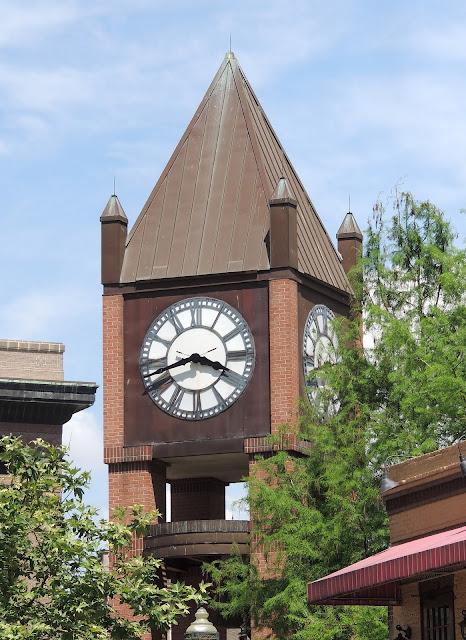 Friedman Clocktower in Downtown Historic District