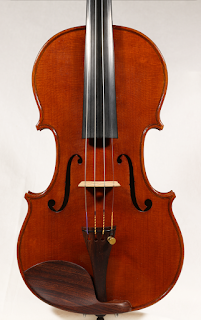 Copy of a Stradivarius Violin Top plate by Nicolas Bonet Luthier - Table d'un violon en copie de Antonio Stradivari