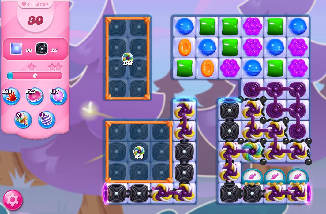 Candy Crush Saga level 8184