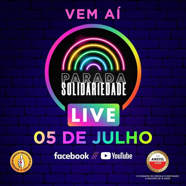 Live Parada Solidariedade