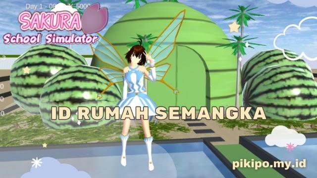 ID Rumah Semangka Di Sakura School Simulator