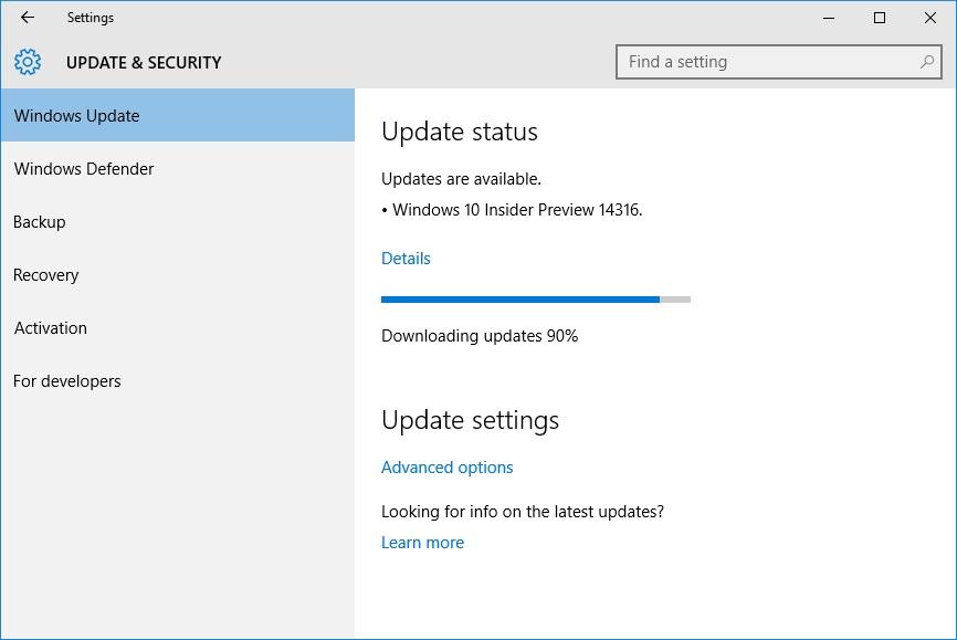 Setelah proses download selesai klik tombol Install now
