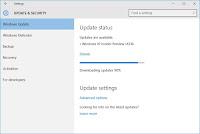 Cara Update ke Windows 10 Build 14316