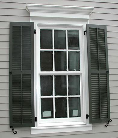 Home window design 2011 exterior wood shutters 2011 - Exterior wood shutters for windows ...