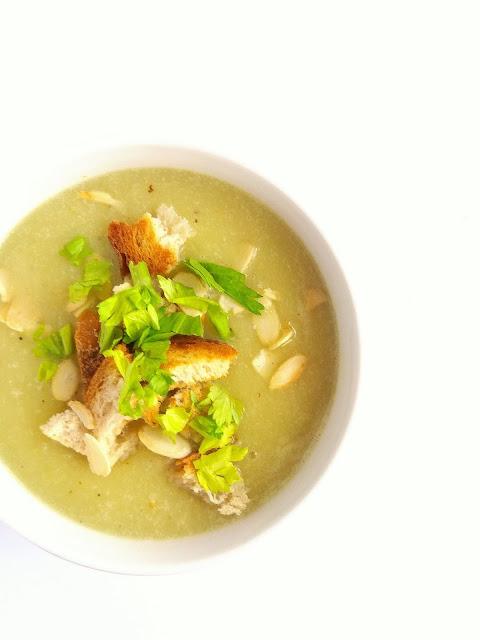 Krem z selera naciowego / Cream of Celery Soup