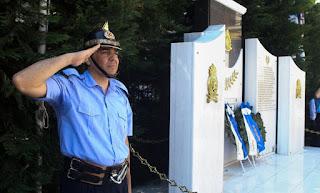 Μνημείο πεσόντων πυροσβεστών στην Καλαμάτα