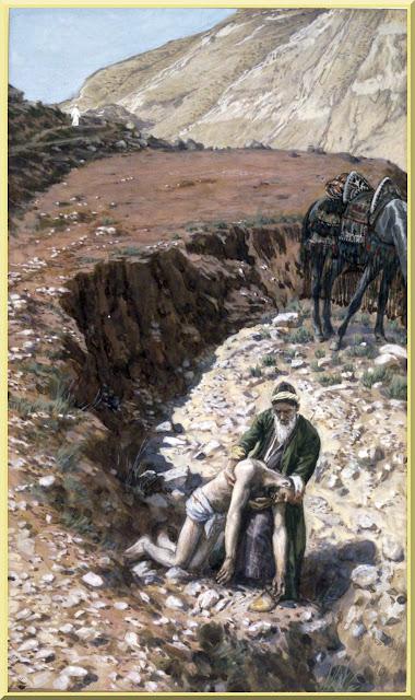 """The Good Samaritan"" -- by James Tissot - PD-1923"