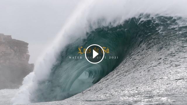 Luís de Sá Ben - Water Footage Showreel 2021 Nazaré Portugal