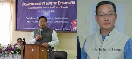 HEALTH MINISTER Dr. THANGTEA A LAINATAWM