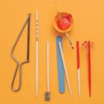 Chopstick Hair Ornaments - Step 1