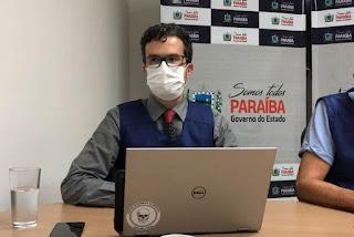 Daniel Beltrammi diz que houve aumento médio de 10 internações por dia na PB e que há nova alta de transmissão do coronavírus