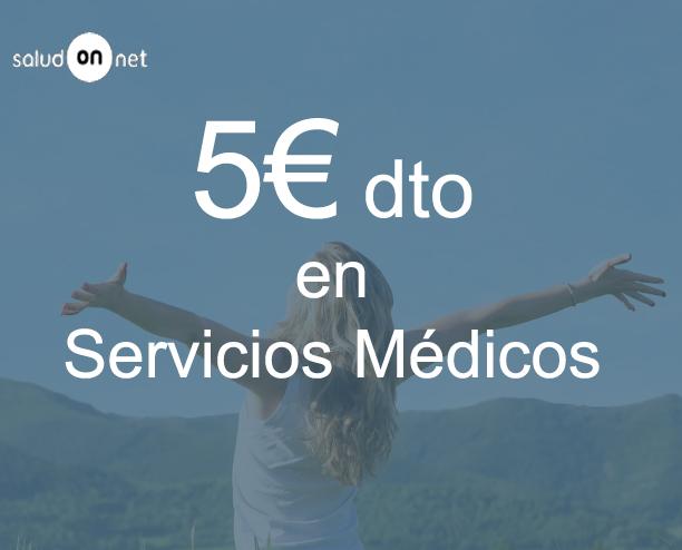 5€ de descuento en Servicios Médicos