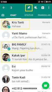 ✓ Cara Menggunakan Pin Chat dan Star Chat di WhatsApp