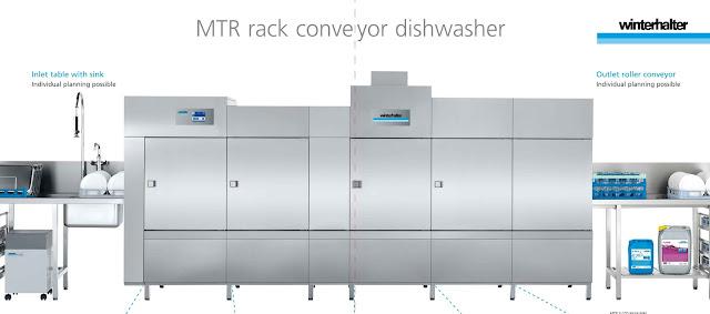 Máy rửa chén công nghiệp MT Series