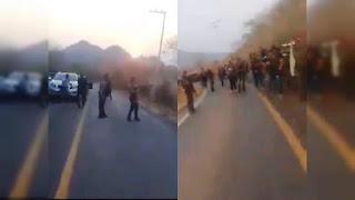 Video: Sicarios fuertemente armados del CJNG ponen su Narco Retén