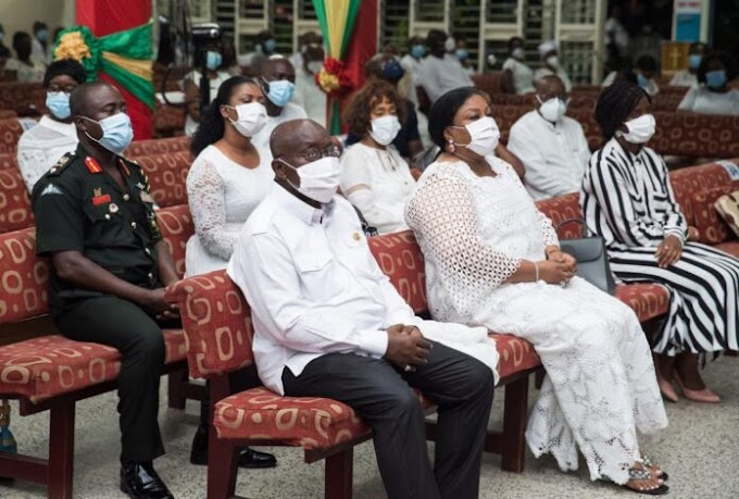 Akufo-Addo prays for an end to COVID-19