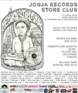 Record Store Day 2018 Yogyakarta Indonesia