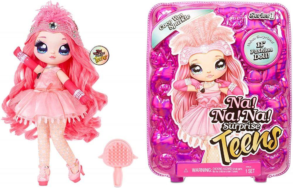 Кукла Coco Von Sparkle NaNaNa Surprise Teens