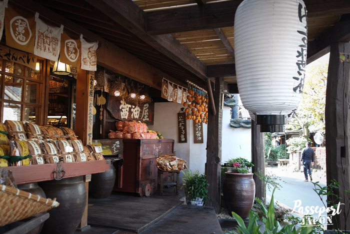 Échoppe de produits locaux, Yufuin, Oita