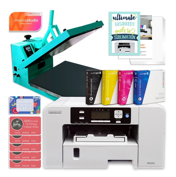 Sawgrass, Sublimation Printer, Sublimation inks, heat press, sublimation