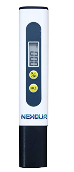 Nexqua Dew Digital LCD Display Portable Pen-Type Total Dissolved Solids Meter, Pocket size ppm Meter , Water Test Kit , 1 Piece