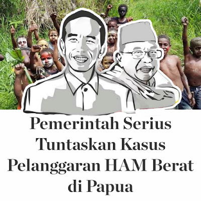 Pemerintah Serius Tuntaskan Kasus Pelanggaran HAM Berat di Papua