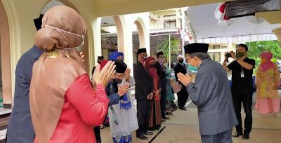 Rektor Unram Lantik Dekan FATEPA, WD II Fakultas Pertanian dan Pejabat Eselon IV