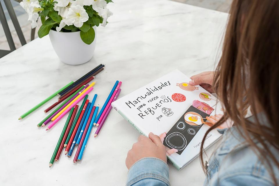 Manualidades para Niños Rebuenos ¡El libro ya está aquí!